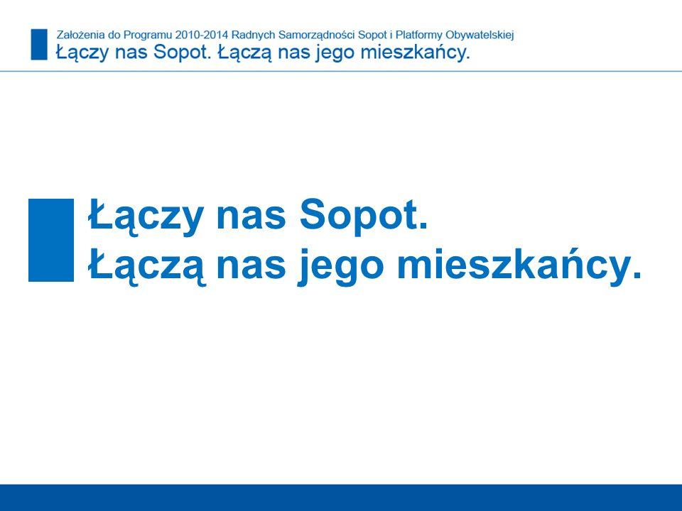 Łączy nas Sopot. Łączą nas jego mieszkańcy.