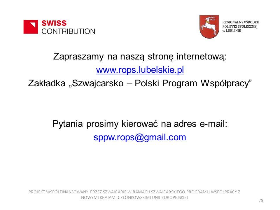 Zapraszamy na naszą stronę internetową: www.rops.lubelskie.pl