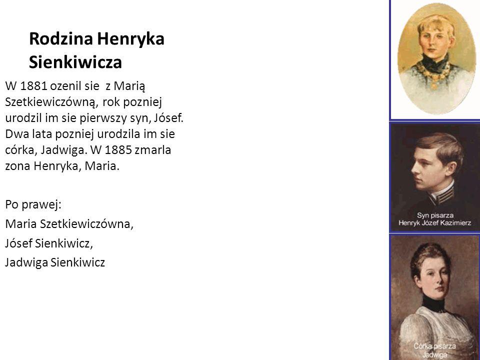 Rodzina Henryka Sienkiwicza