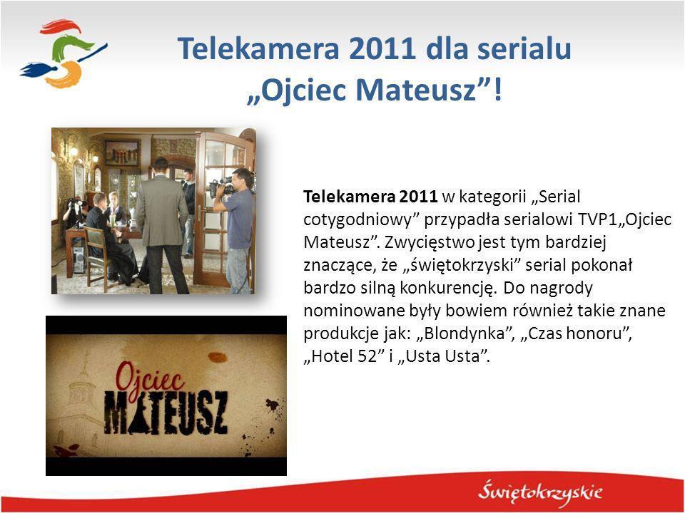 """Telekamera 2011 dla serialu """"Ojciec Mateusz !"""