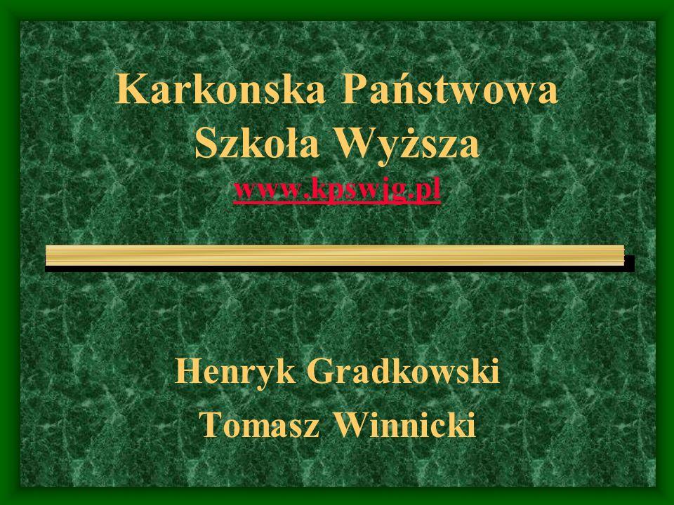 Karkonska Państwowa Szkoła Wyższa www.kpswjg.pl