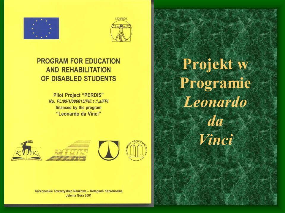 Projekt w Programie Leonardo da Vinci