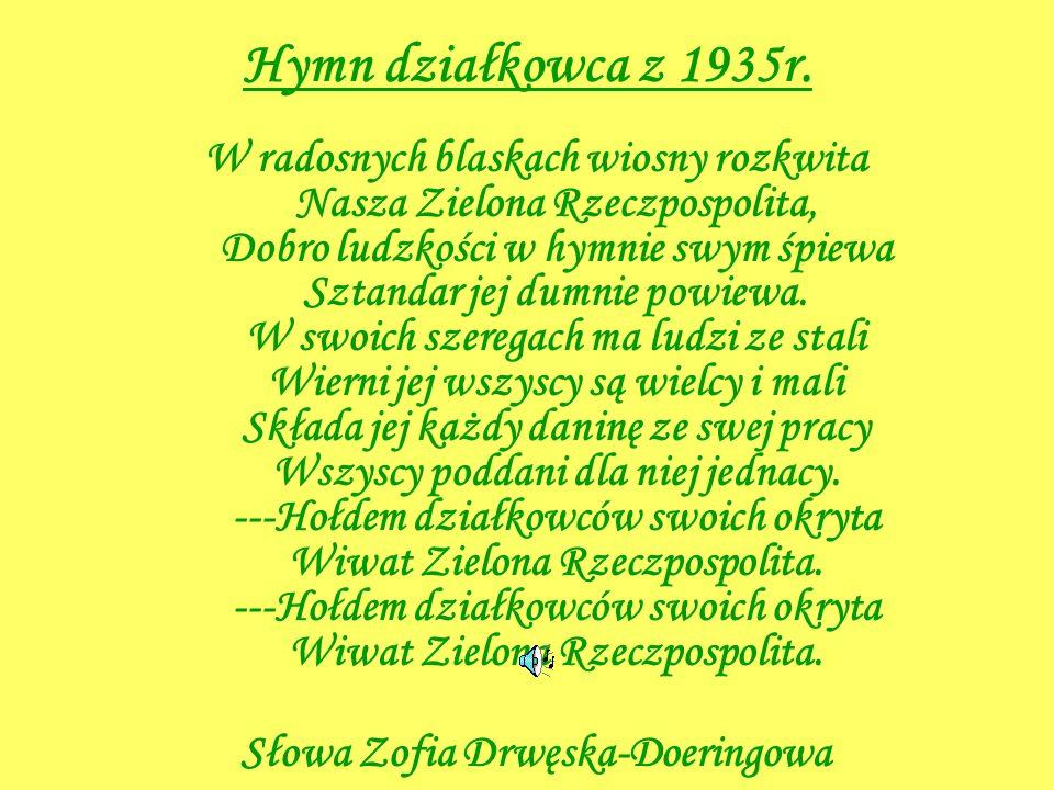 Słowa Zofia Drwęska-Doeringowa