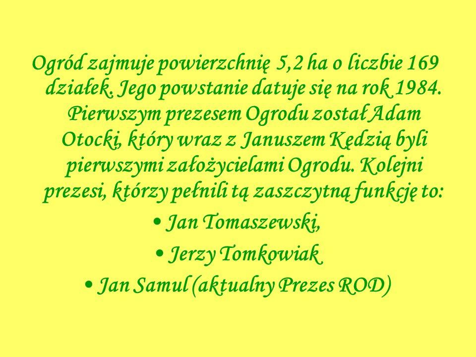 Jan Samul (aktualny Prezes ROD)