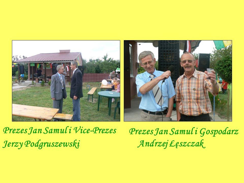 Prezes Jan Samul i Vice-Prezes