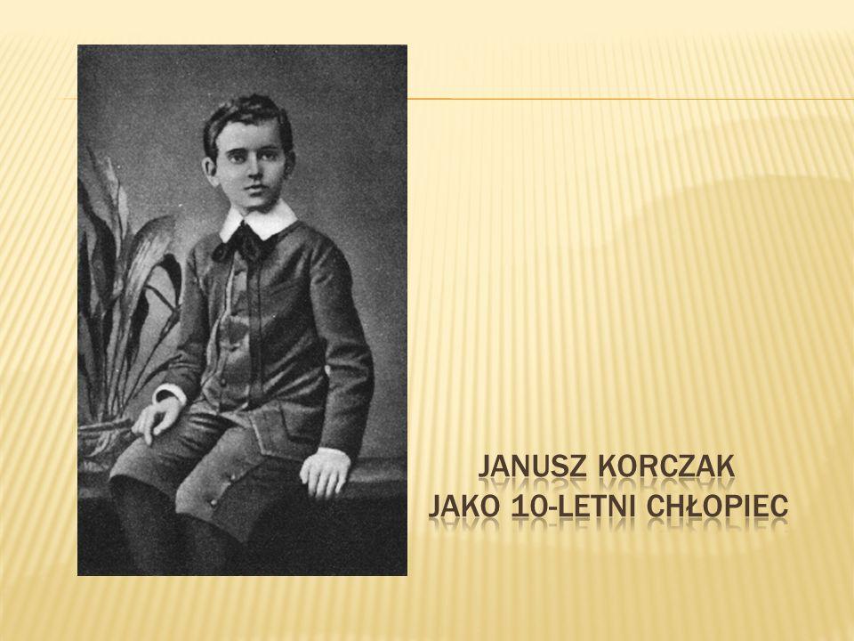 Janusz korczak jako 10-letni chłopiec
