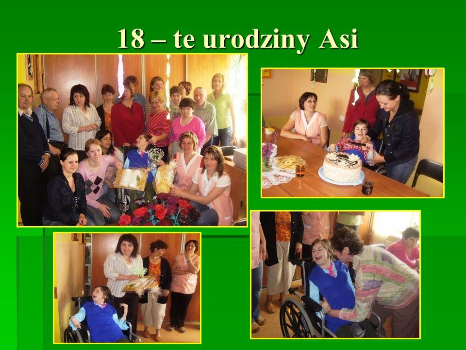 18 – te urodziny Asi