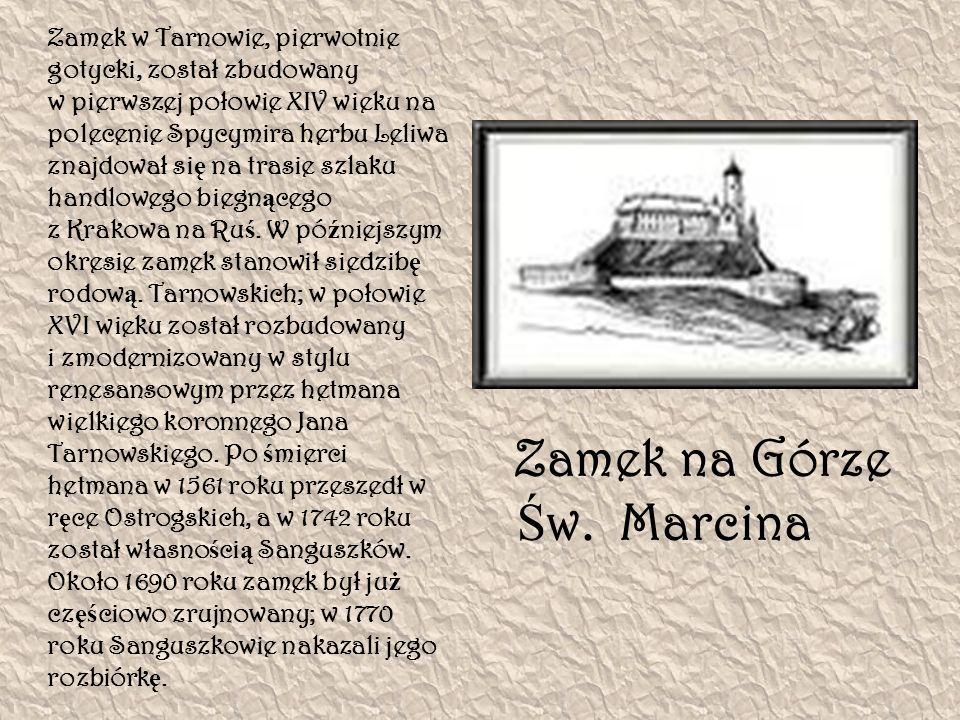 Zamek na Górze Św. Marcina