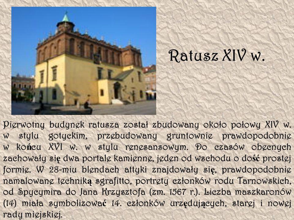 Ratusz XIV w.