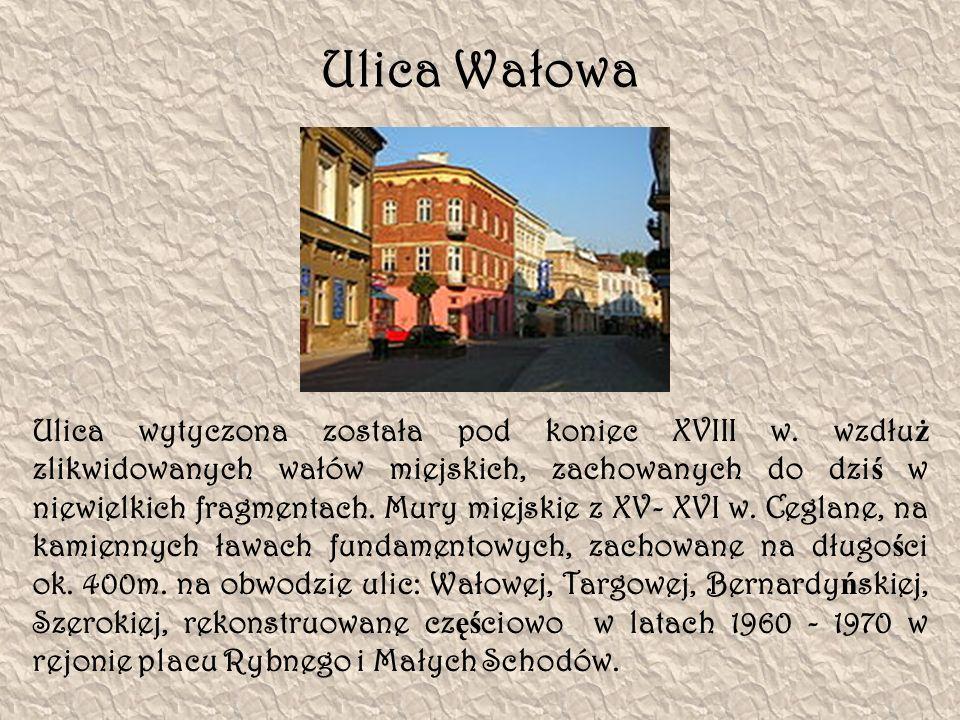 Ulica Wałowa
