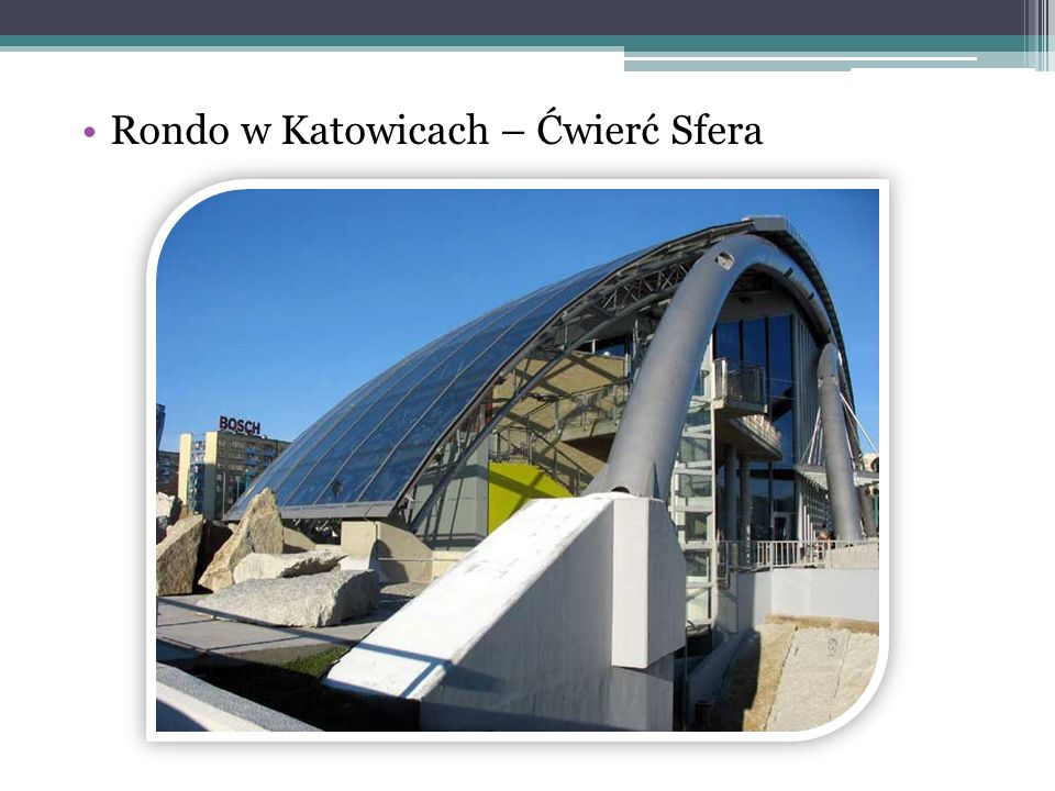 Rondo w Katowicach – Ćwierć Sfera