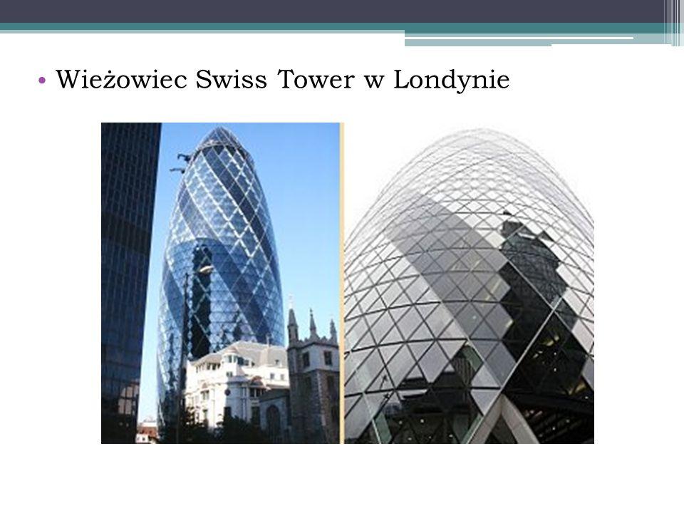 Wieżowiec Swiss Tower w Londynie