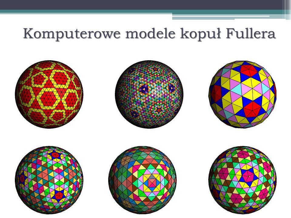 Komputerowe modele kopuł Fullera