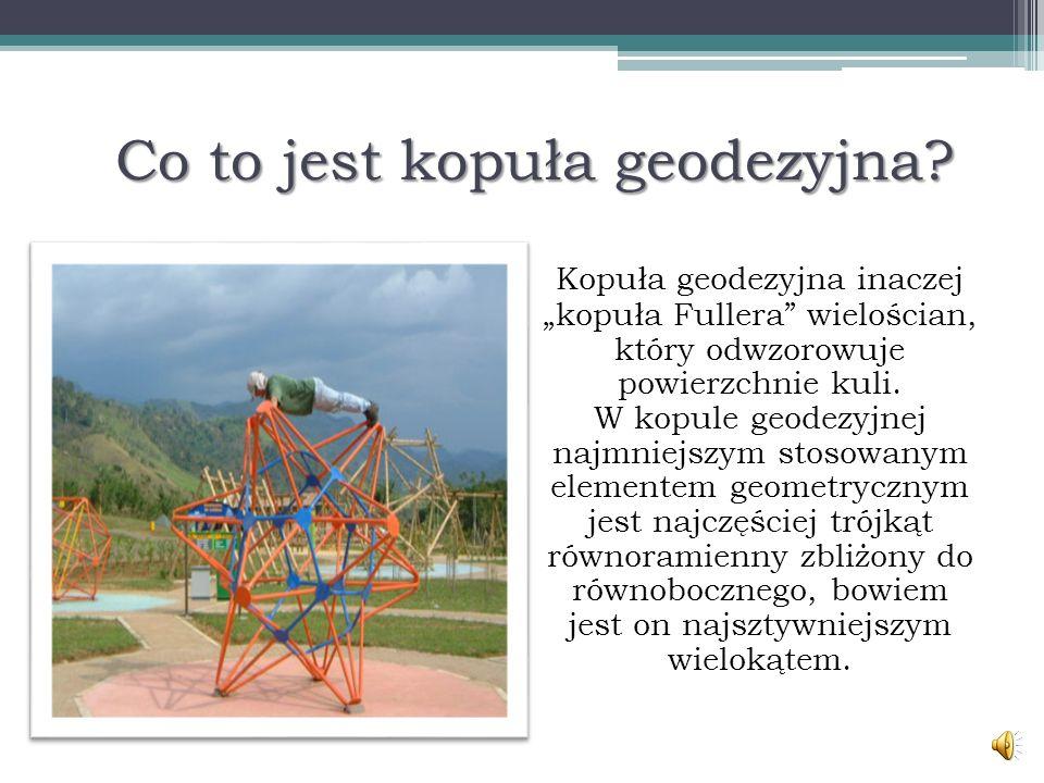 Co to jest kopuła geodezyjna