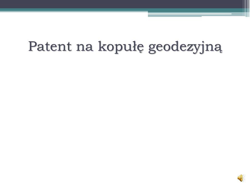 Patent na kopułę geodezyjną