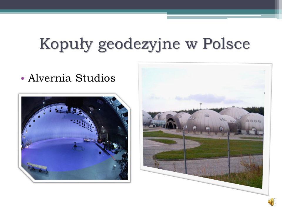 Kopuły geodezyjne w Polsce