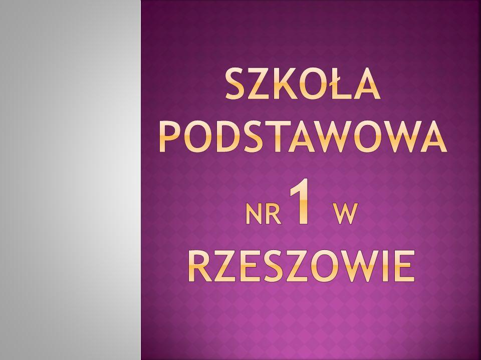 Szkoła podstawowa nr1 w Rzeszowie