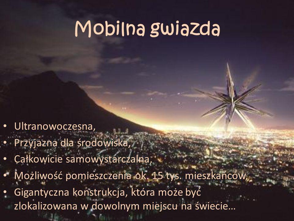 Mobilna gwiazda Ultranowoczesna, Przyjazna dla środowiska,