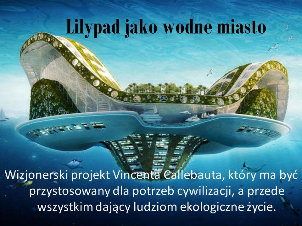 Lilypad jako wodne miasto