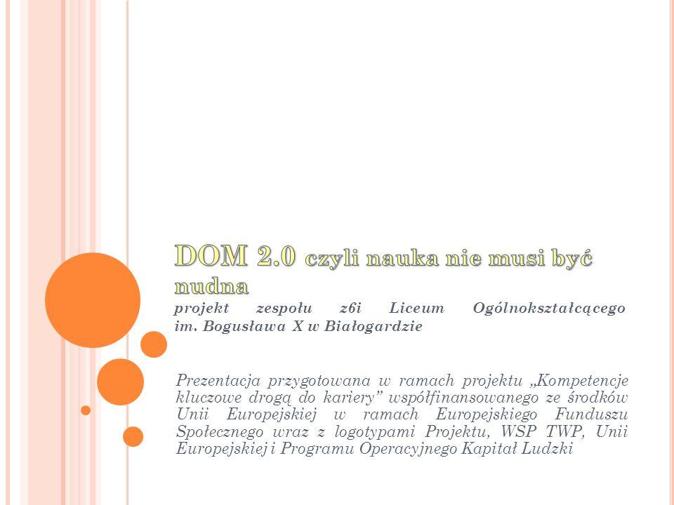 DOM 2.0 czyli nauka nie musi być nudna