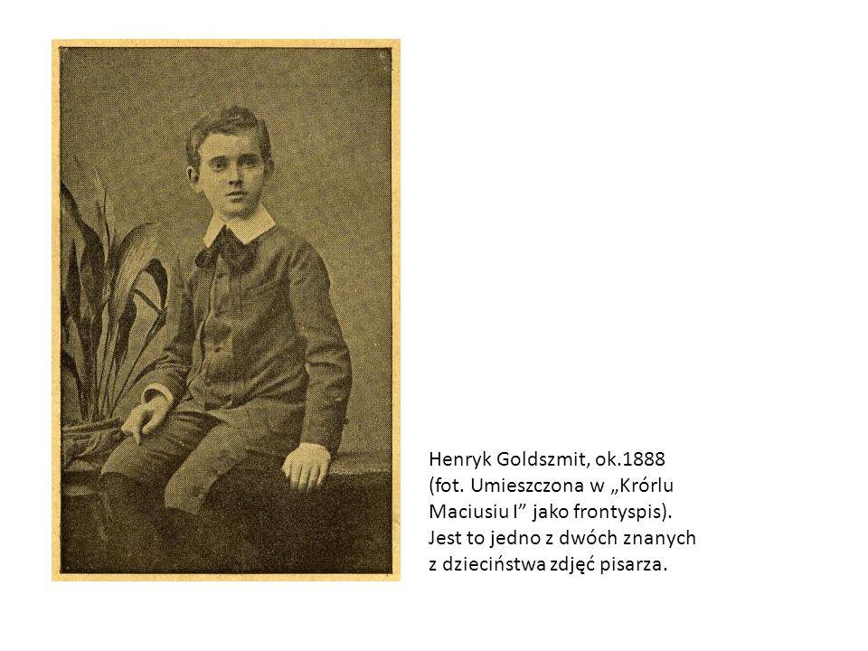 Henryk Goldszmit, ok. 1888 (fot