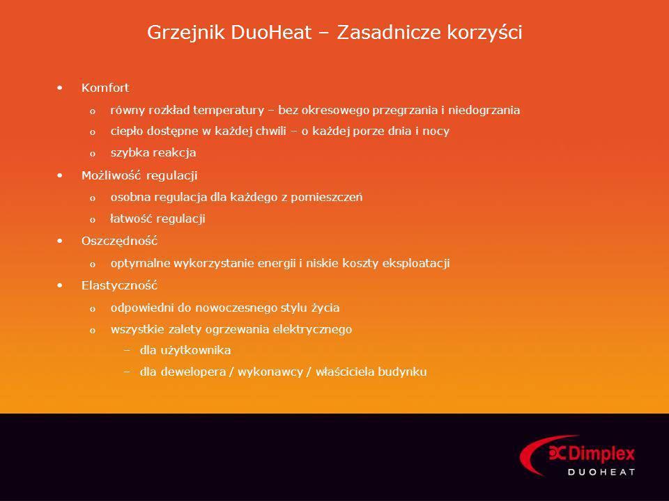 Grzejnik DuoHeat – Zasadnicze korzyści