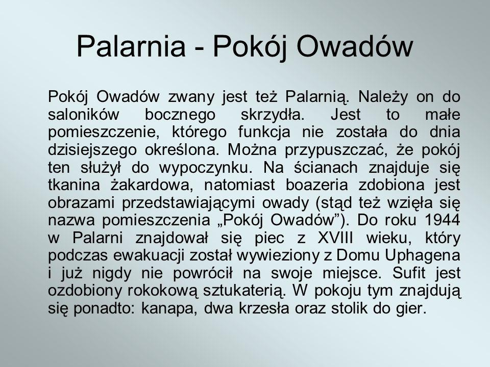 Palarnia - Pokój Owadów