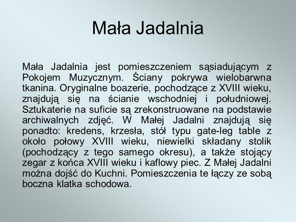 Mała Jadalnia