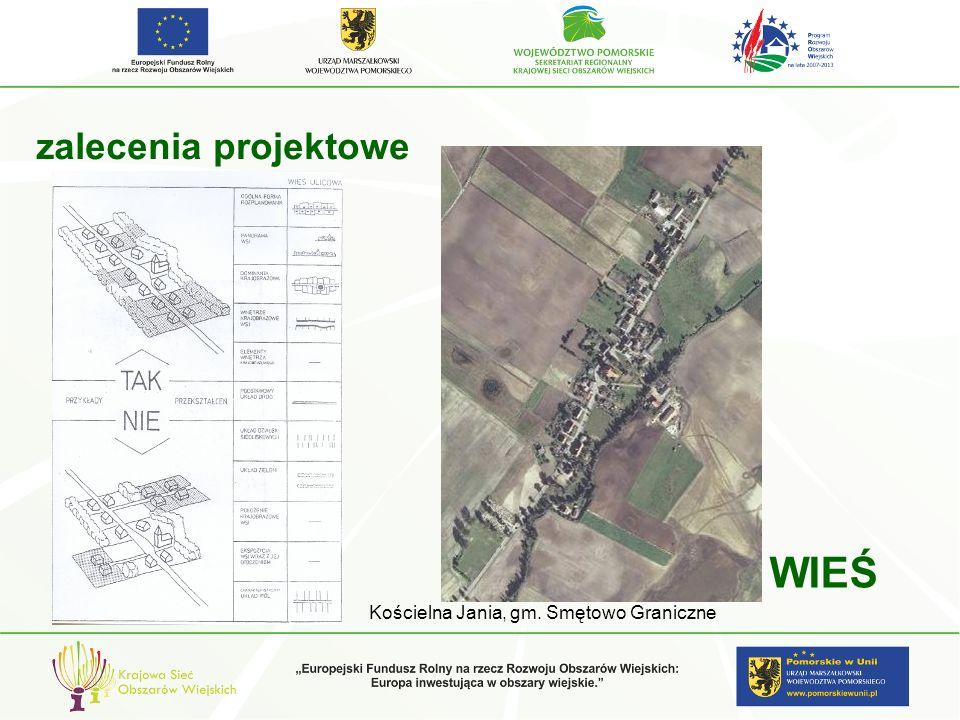 zalecenia projektowe WIEŚ Kościelna Jania, gm. Smętowo Graniczne