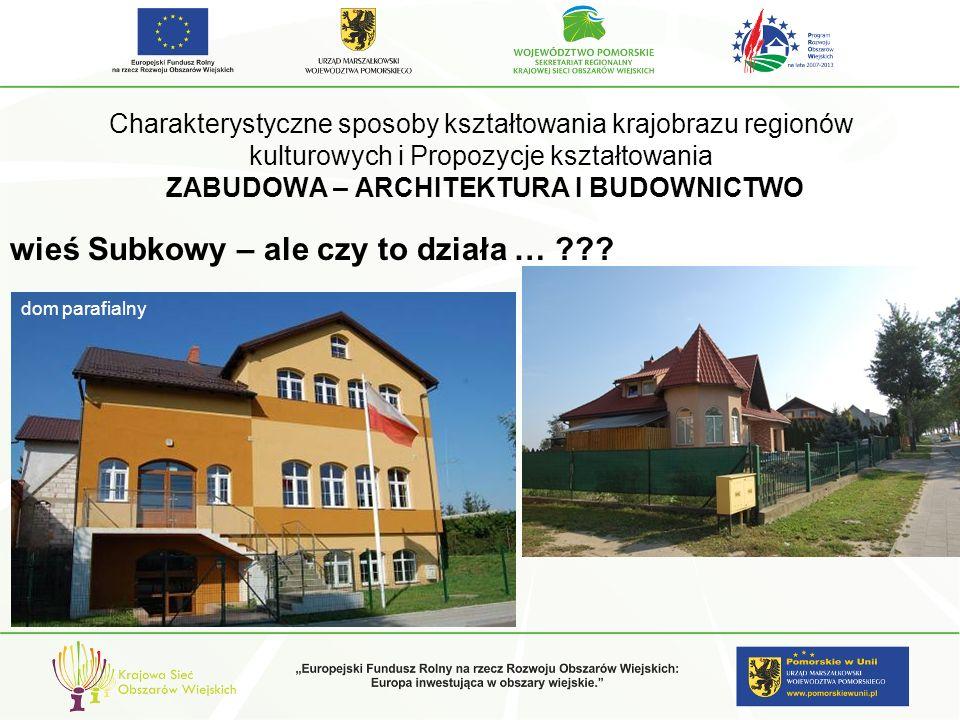 wieś Subkowy – ale czy to działa …