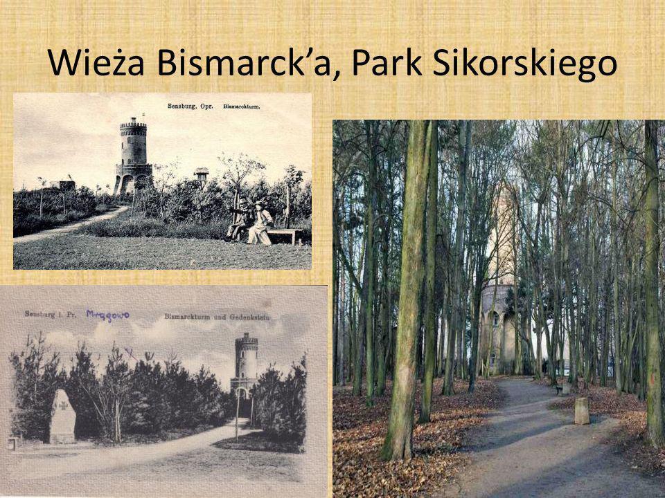 Wieża Bismarck'a, Park Sikorskiego