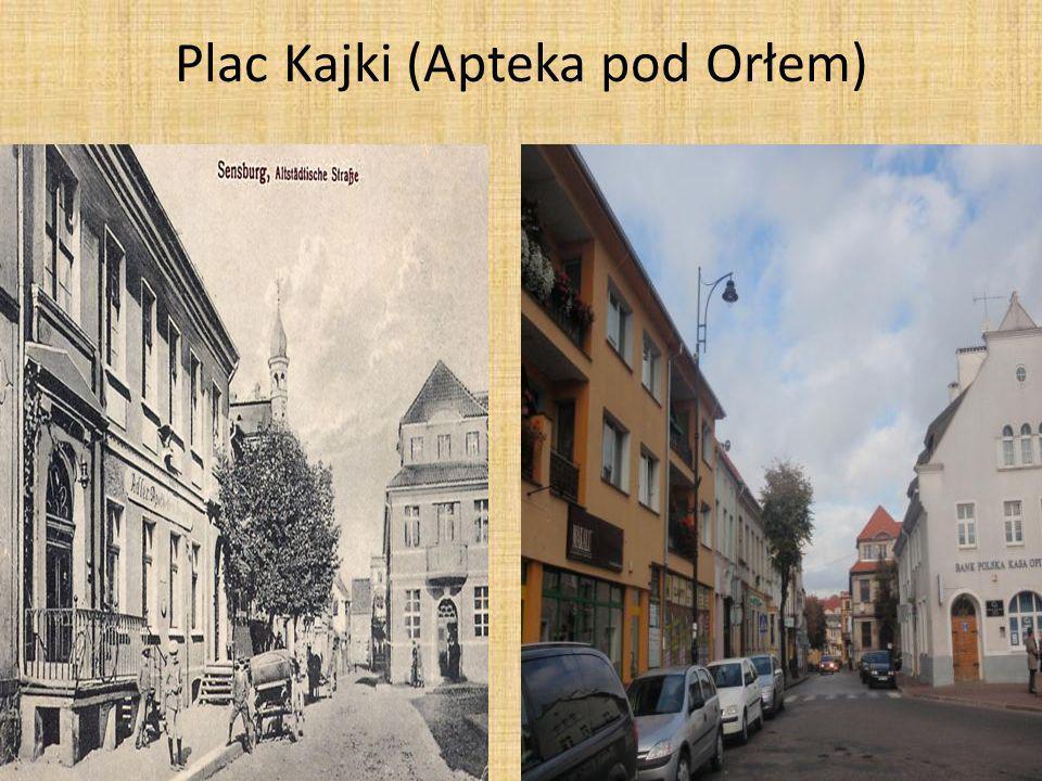 Plac Kajki (Apteka pod Orłem)