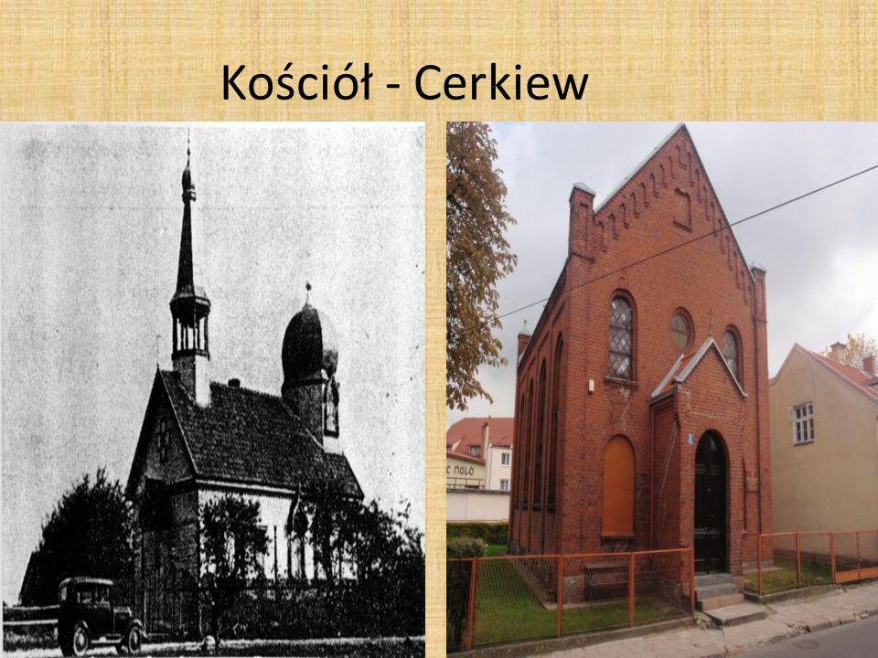 Kościół - Cerkiew