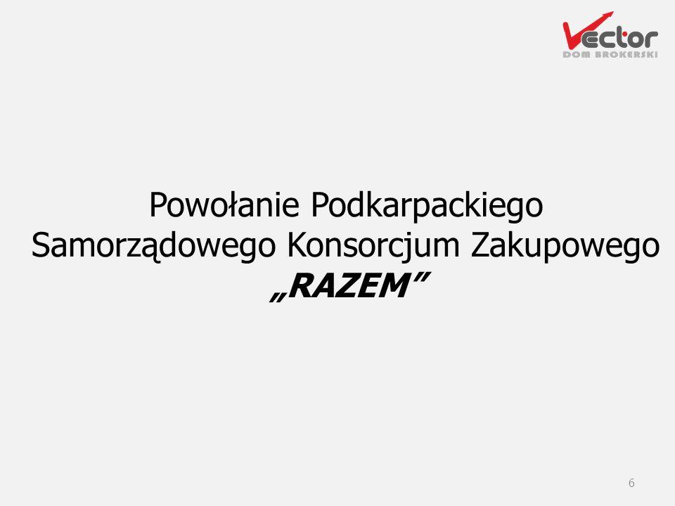 """Powołanie Podkarpackiego Samorządowego Konsorcjum Zakupowego """"RAZEM"""