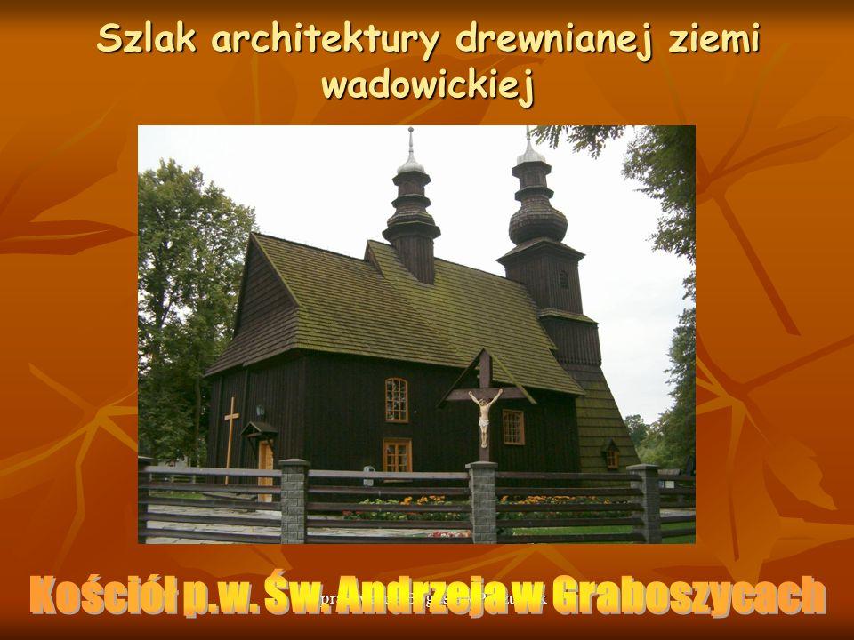 Szlak architektury drewnianej ziemi wadowickiej