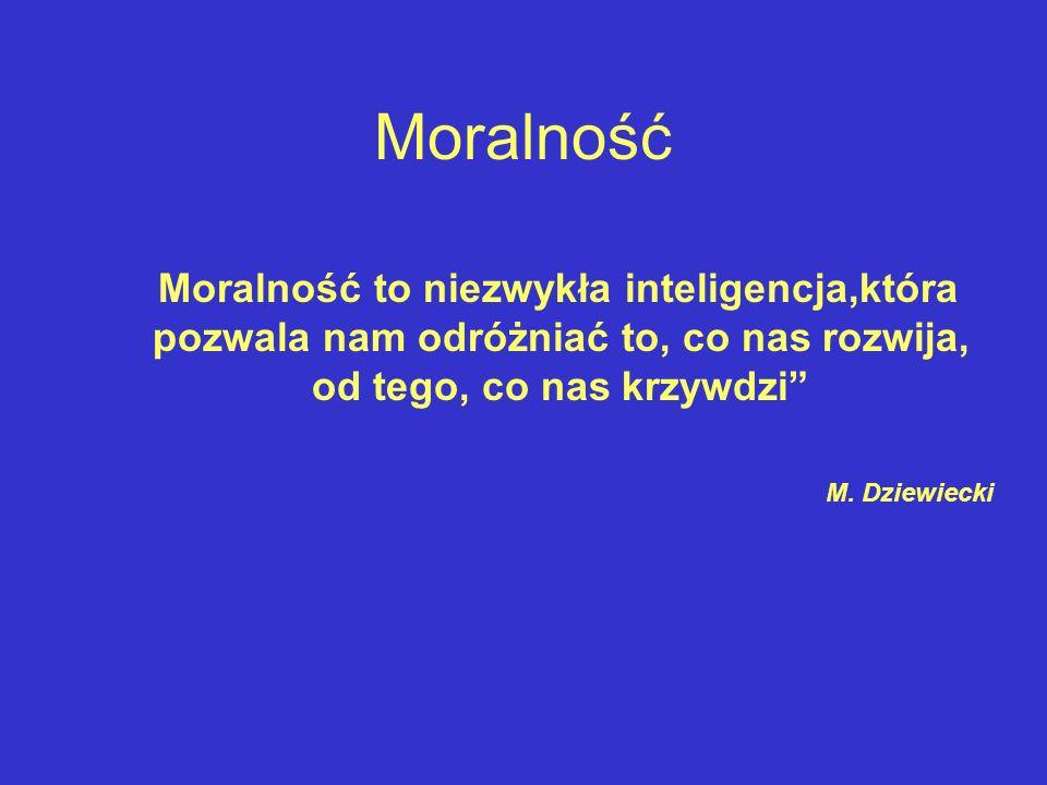 Moralność M. Dziewiecki