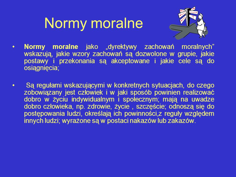 Normy moralne