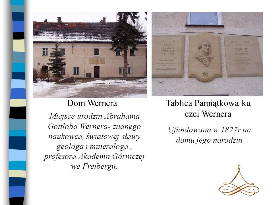 Tablica Pamiątkowa ku czci Wernera