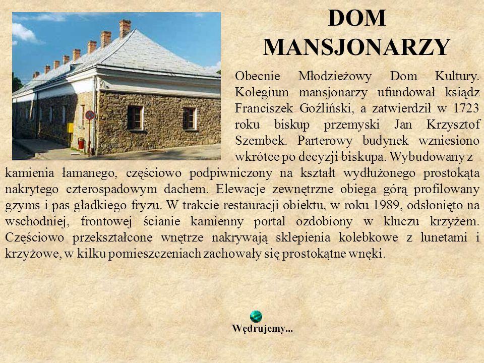 DOM MANSJONARZY