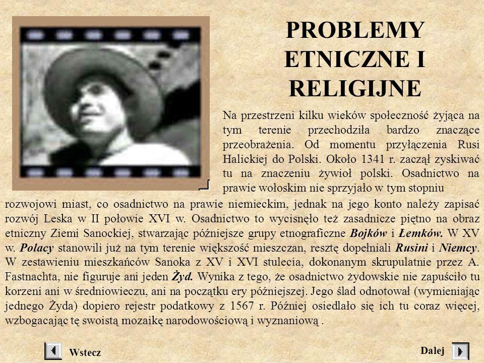 PROBLEMY ETNICZNE I RELIGIJNE