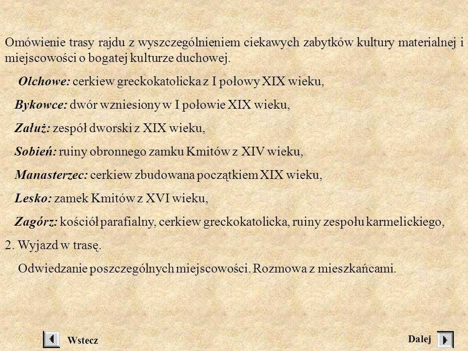 Olchowe: cerkiew greckokatolicka z I połowy XIX wieku,