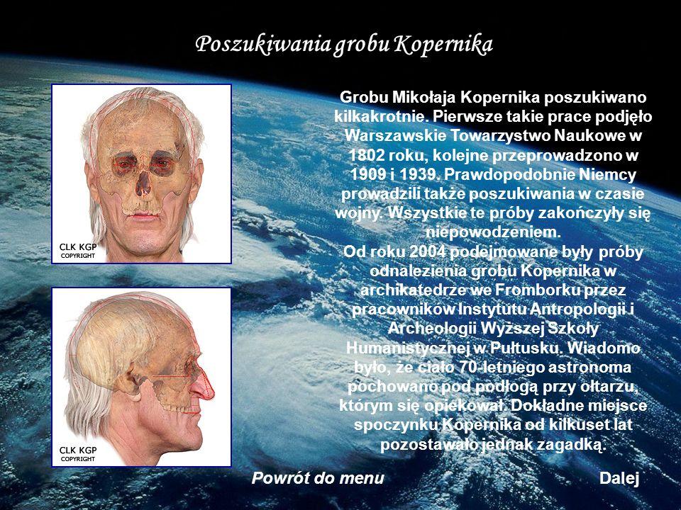 Poszukiwania grobu Kopernika