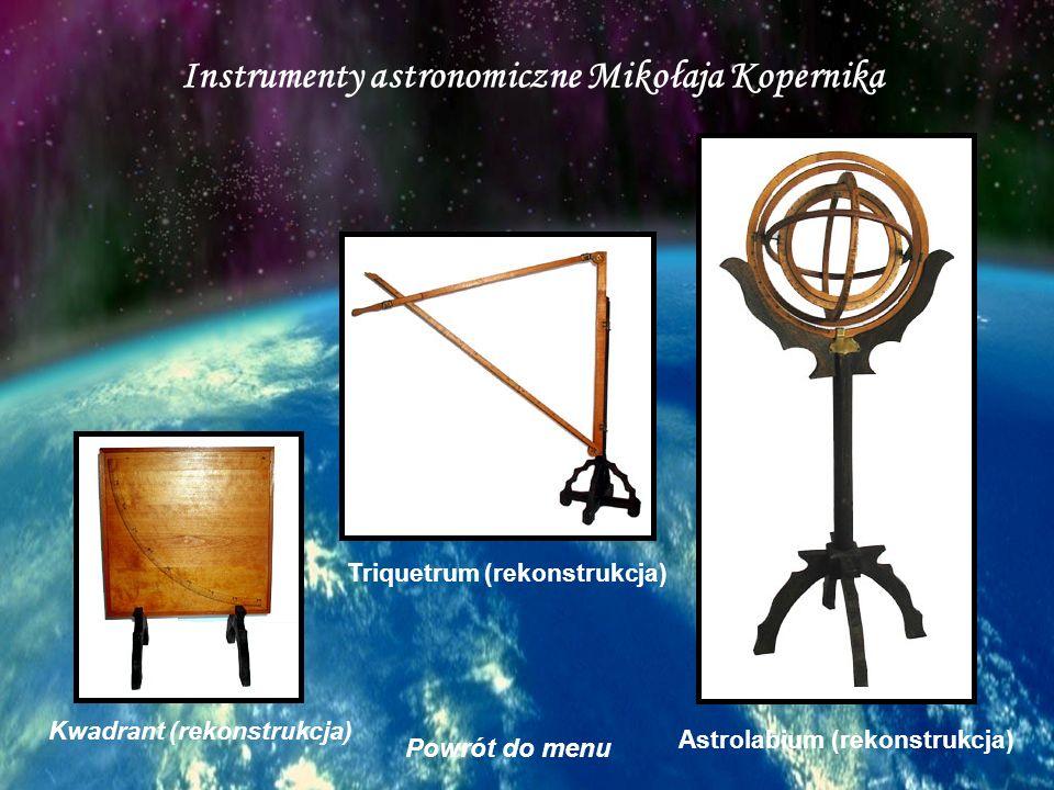 Instrumenty astronomiczne Mikołaja Kopernika