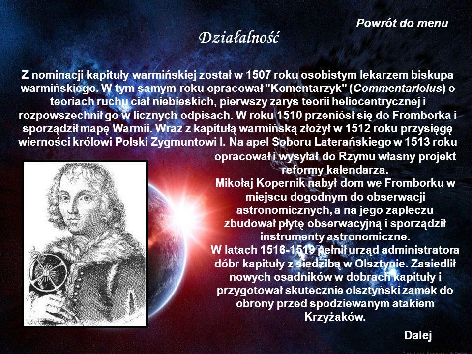 opracował i wysyłał do Rzymu własny projekt reformy kalendarza.