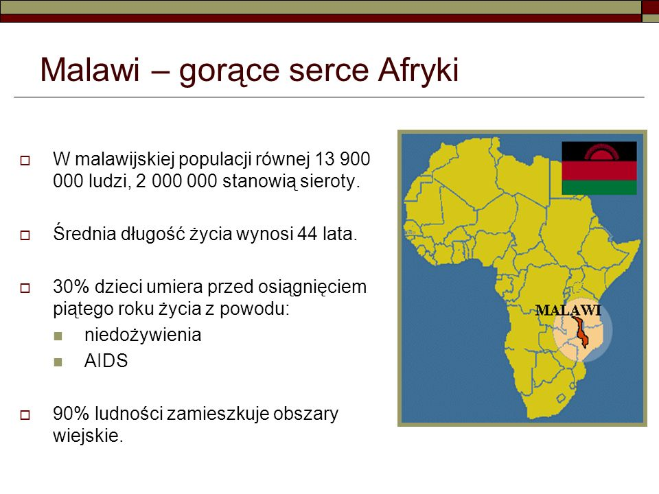 Malawi – gorące serce Afryki