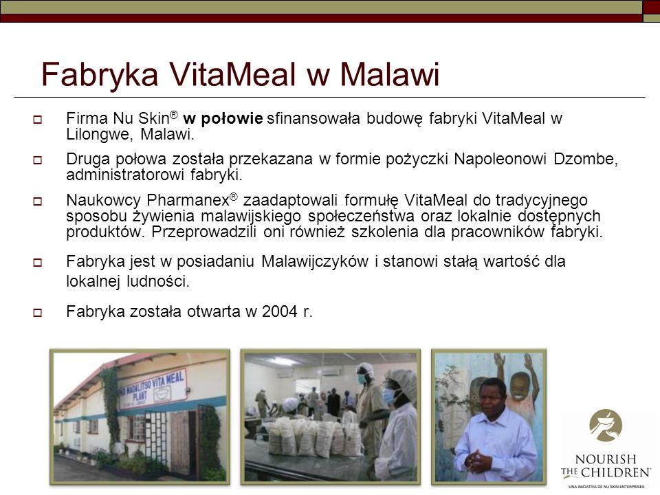 Fabryka VitaMeal w Malawi