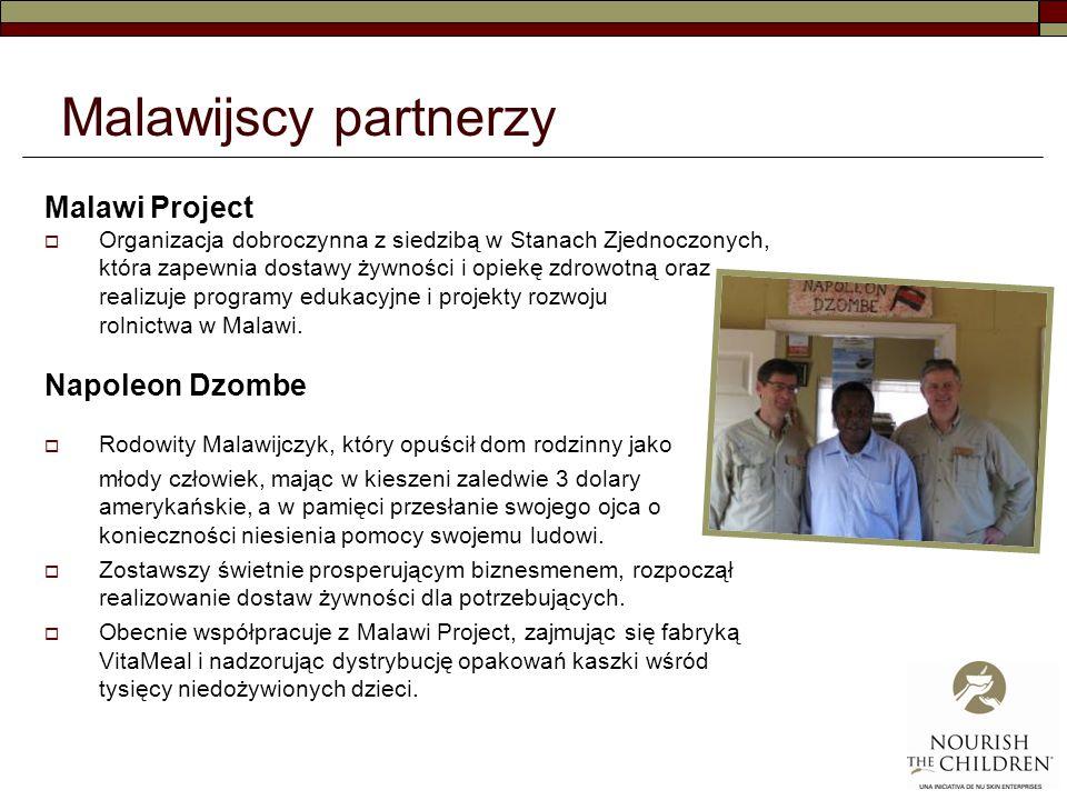 Malawijscy partnerzy Malawi Project Napoleon Dzombe