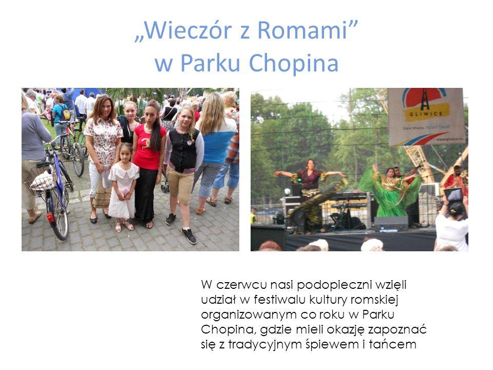 """""""Wieczór z Romami w Parku Chopina"""