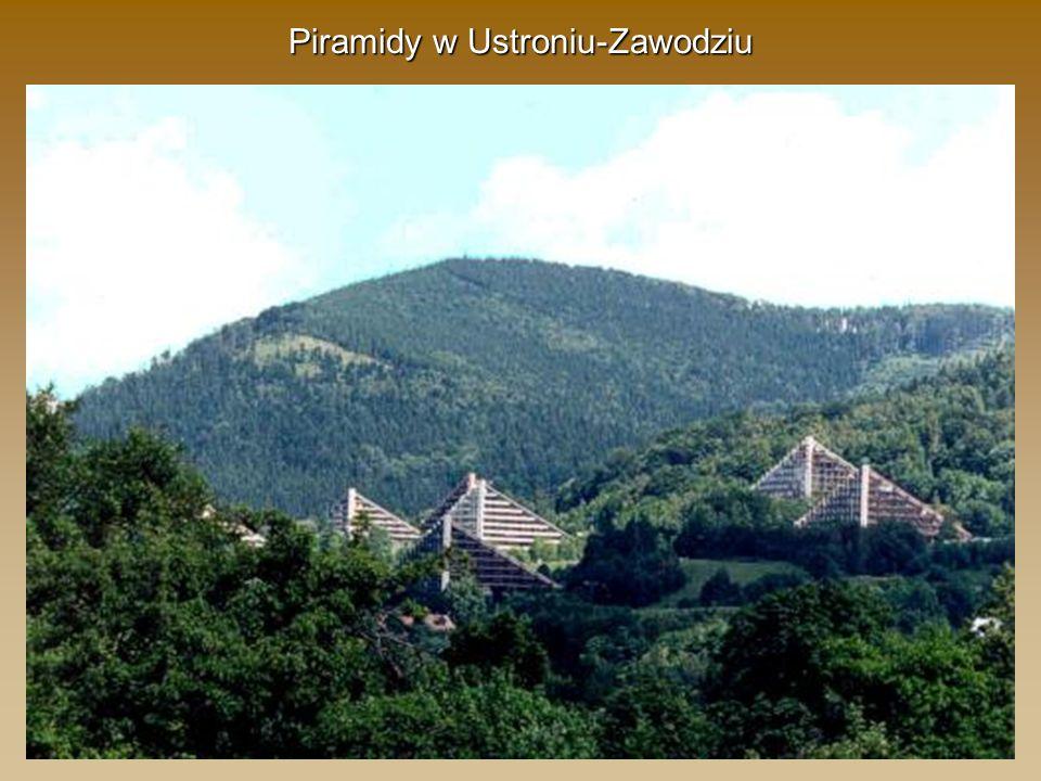 Piramidy w Ustroniu-Zawodziu