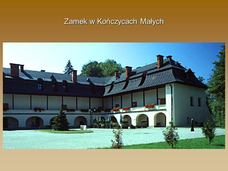 Zamek w Kończycach Małych